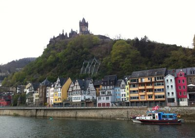 Heidelberg Castle over the Neckar River