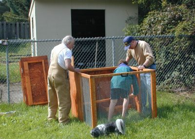 Building our first chicken coop